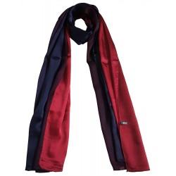Mehrunnisa 100% Pure Silk Double Shaded Scarf/Neck Wrap – Unisex (GAR2465)
