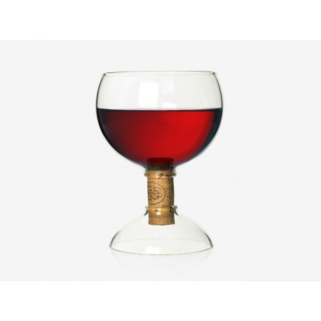Bung wine glass