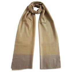 Mehrunnisa Handcrafted Pure Cashmere Pashmina Wool Muffler / Scarf Wrap – Unisex (GAR2149)