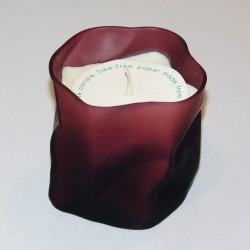 Glacon glass candle