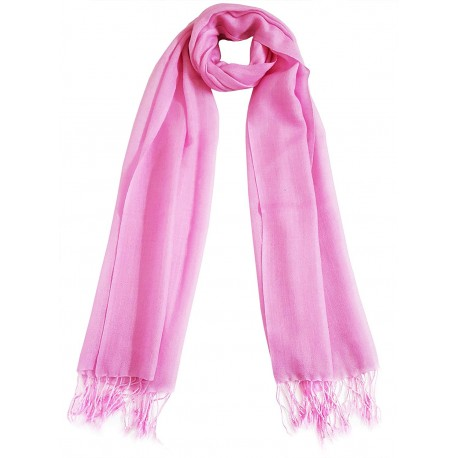 Mehrunnisa Handcrafted Pure Wool Cashmere Stole / Large Scarf Wrap - Unisex (GAR1790)