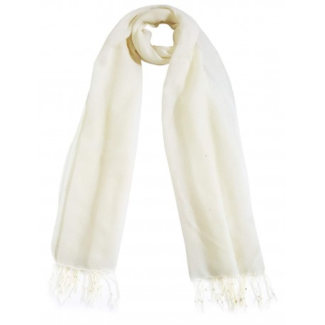 Mehrunnisa Handcrafted Pure Wool Cashmere Stole/Large Scarf Wrap – Unisex (GAR2432)