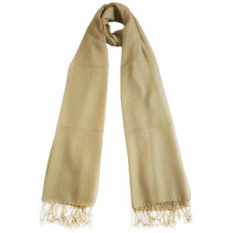 Mehrunnisa Handcrafted Pure Wool Cashmere Stole/Large Scarf Wrap – Unisex (GAR2431)
