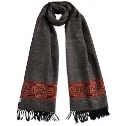 Mehrunnisa Handcrafted Premium Pure Yak Wool Shawl (GAR2151)