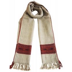 Mehrunnisa Handcrafted Premium Pure Yak Wool Stole/Long Scarf (GAR2555)