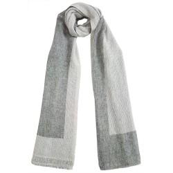 Mehrunnisa Handcrafted Reversible Cashmere 100% Pure Wool Muffler – Unisex (GAR2083)