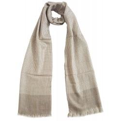 Mehrunnisa Handcrafted Pure Cashmere Pashmina Wool Muffler / Scarf Wrap – Unisex (GAR2098)