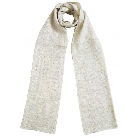 Mehrunnisa Handcrafted Pure Cashmere Pashmina Wool Muffler / Scarf Wrap – Unisex (GAR2099)