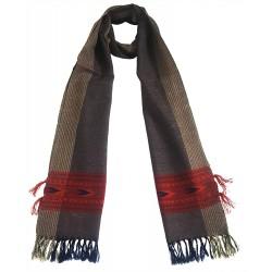 Mehrunnisa Handcrafted Premium 100% Pure Wool Muffler – Unisex (GAR2551)