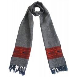 Mehrunnisa Handcrafted Premium 100% Pure Wool Muffler – Unisex (GAR2550)