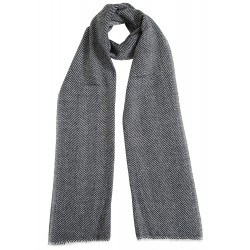 Mehrunnisa Handcrafted Cashmere Pure Wool Muffler For Men/Women (GAR2101)