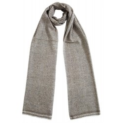 Mehrunnisa Handcrafted Cashmere Pure Wool Muffler For Men/Women (GAR2102)