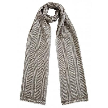 Mehrunnisa Handcrafted Cashmere Pure Wool Muffler For Men/Women(GAR2102)