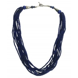 Mehrunnisa Afghani Lapis Lazuli Multi-Strand Necklace for Women (JWL2708)