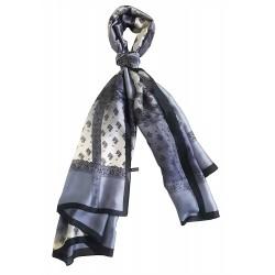 Mehrunnisa Poly Silk Scarf/Neck Wrap – Unisex (GAR2709)