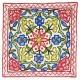 Mehrunnisa (16X16) Exclusive Kashmiri Hand Embroidered Cushion Cover (HOM2581)