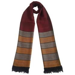 Mehrunnisa Handcrafted Premium Pure Wool Stole – Unisex (GAR2628, Maroon)