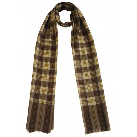 Mehrunnisa Handcrafted Pure Pashmina Cashmere Wool Muffler/Scarf Wrap – Unisex (GAR2573)