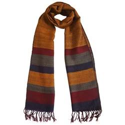 Mehrunnisa Handcrafted Premium 100% Pure Wool Muffler – Unisex (GAR2539)