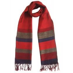 Mehrunnisa Handcrafted Premium 100% Pure Wool Muffler – Unisex (GAR2538)