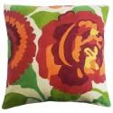 "Mehrunnisa (12""X12"") Kashmir Hand Embroidered Crewel Work Cushion Cover (HOM2509)"
