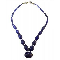 Mehrunnisa Afghanistan Ethnic Lapis Lazuli Necklace ( A, JWL2788)