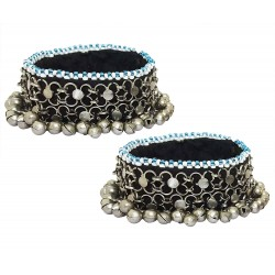 Mehrunnisa Traditional Afghani (Set of 2) Ghungroo Payal/Anklets for Girls/Women (JWL2796)