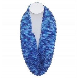 Mehrunnisa Handmade Knit Cowl / Infinity Scarf For Girls & Women (GAR2821)