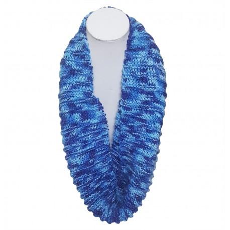 Mehrunnisa Handmade Knit Cowl / Infinity Scarf For Girls & Women (GAR2821)