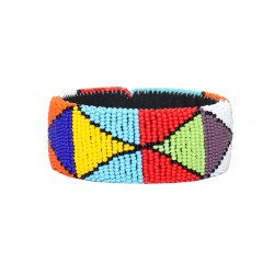 Zulu Beaded Bracelet - Colorful