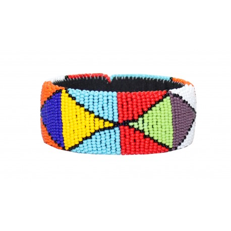 Zulu Beaded Bracelet - Multicolor