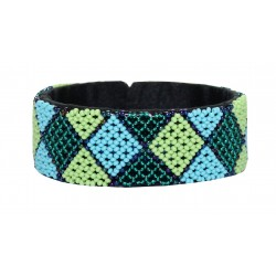 Zulu Beaded Bracelet - Green