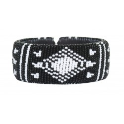 Zulu Beaded Bracelet - Diamond