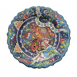 Handmade Turkish Ceramic  Plate