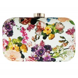 Oval Box Clutch Evening Bag