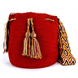 Traditional  Solid Colors  Big Size Mochila Bag