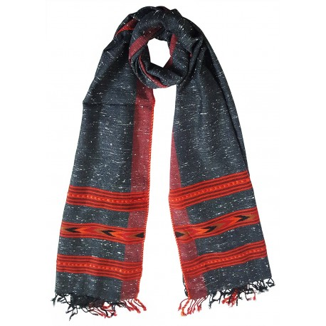 Mehrunnisa Handcrafted Premium Sheep Wool Stole – Unisex (GAR2009)