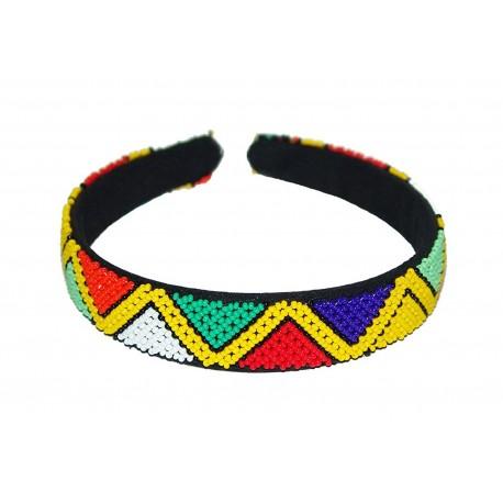 Zulu Beaded Hairband