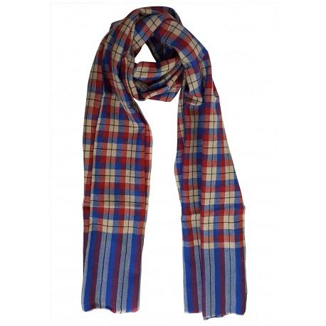 Mehrunnisa Handcrafted Pure Cashmere Pashmina Wool Muffler Wrap – Unisex (GAR1901)