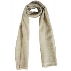 Mehrunnisa Handcrafted Premium 100% Pure Wool Zig Zag / Plain Muffler (GAR1961)