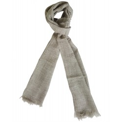 Mehrunnisa Handcrafted Pure Cashmere Pashmina Wool Muffler Wrap – Unisex (GAR2002)