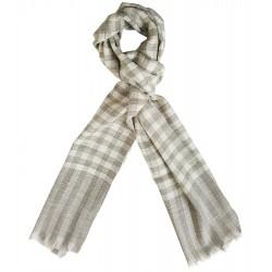 Mehrunnisa Handcrafted Pure Cashmere Pashmina Wool Muffler Wrap – Unisex (GAR2003)