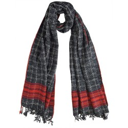 Mehrunnisa Handcrafted Premium Sheep Large Wool Stole – Unisex (GAR2006)
