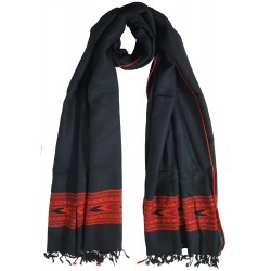 Mehrunnisa Handcrafted Premium Sheep Large Wool Stole – Unisex (GAR2007)