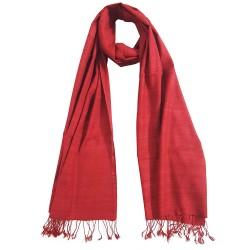 Mehrunnisa Ahimsa / Peace / Eri Silk Stole / Large Scarf Wrap In Organic Colors (GAR2044)