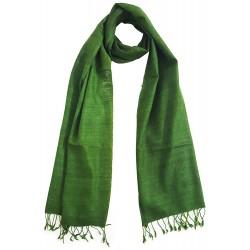 Mehrunnisa Ahimsa / Peace / Eri Silk Stole / Large Scarf Wrap In Organic Colors (GAR2045)