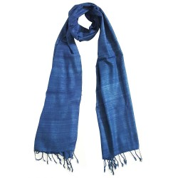 Mehrunnisa Ahimsa / Peace / Eri Silk Stole / Large Scarf Wrap In Organic Colors (GAR2046)