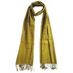 Mehrunnisa Ahimsa / Peace / Eri Silk Stole / Large Scarf Wrap In Organic Colors (GAR2047)