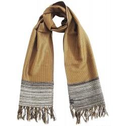 Mehrunnisa Handcrafted Premium Pure Yak Wool Muffler / Scarf – Unisex (GAR2056)