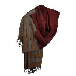 Mehrunnisa Handcrafted Premium Pure Wool Shawl – Unisex (GAR2152)